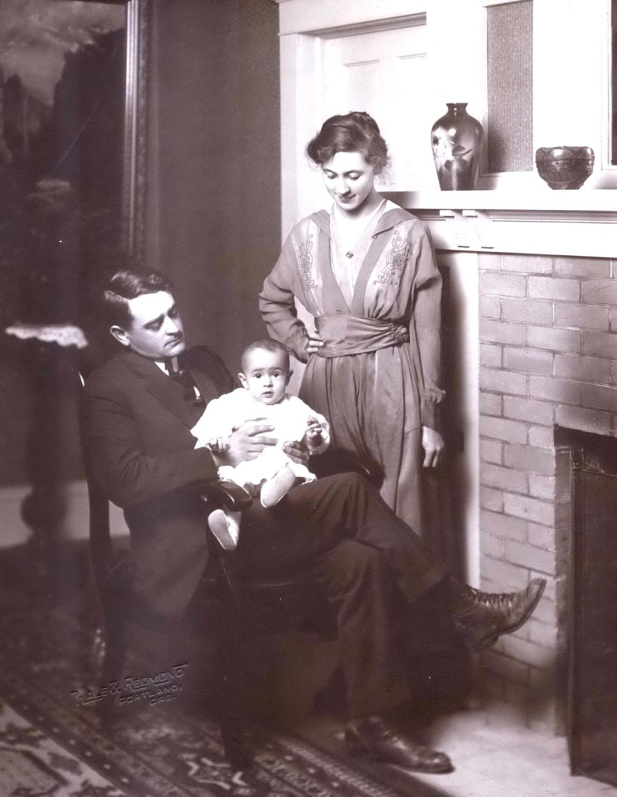 The Bowman Family, 1917