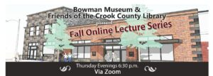 Fall Lecture Series Video Replays